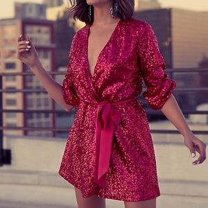 Express x Olivia Culpo Sequin Dress